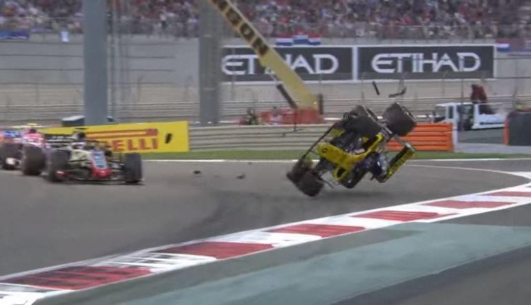'एफ1' कारच्या थरारक अपघाताचा व्हिडीओ