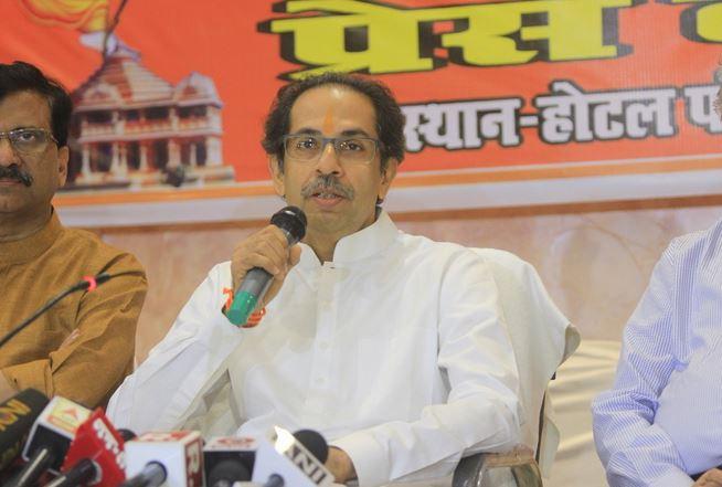 राम मंदिर भाजपचा चुनावी जुमला : उद्धव ठाकरे