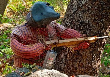 पोलिसांना फसवण्यासाठी जंगलात डमी पुतळे, नक्षलवाद्यांची शक्कल