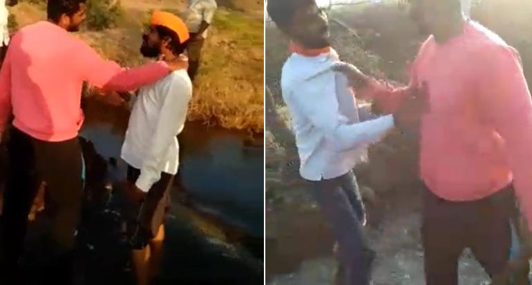 , VIDEO : पुण्यातल्या PSI ची सोलापुरात तलवार घेऊन दादागिरी