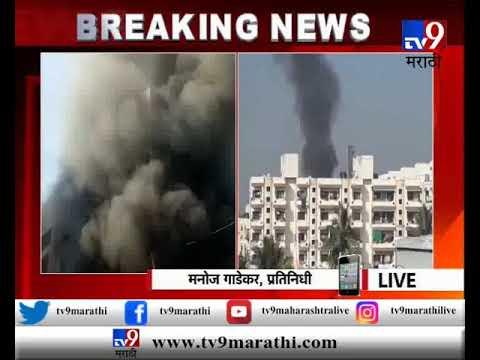 अहमदनगर : शिर्डीत कुंकुलोळ मार्केटमध्ये कपड्याच्या दुकानाला आग
