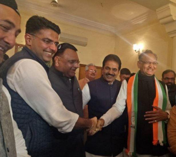 राजस्थानमध्ये अशोक गहलोतच मुख्यमंत्री!