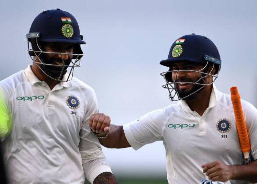 india vs Australia pearth test, IndvsAus: कप्तान-उपकप्तानाने भारताचं जहाज सुस्थितीत पोहोचवलं