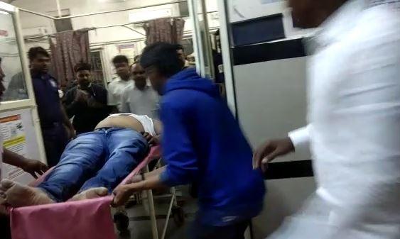 अहमदनगरमध्ये शिवसैनिकावर प्राणघातक हल्ला