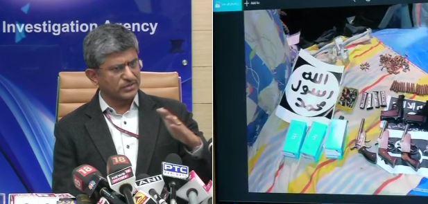 NIA, 'एनआयए'ने राजकीय नेत्यांवरील दहशतवादी हल्ल्याचा कट उधळला, 10 संशयित ताब्यात