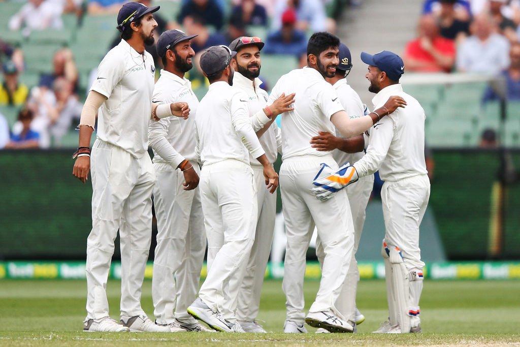 मेलबर्न कसोटीत भारताची ऑस्ट्रेलियावर मात
