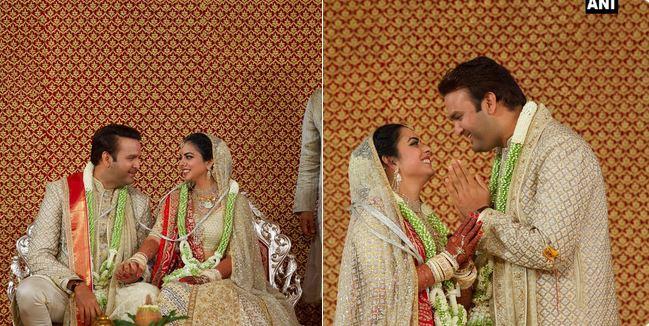 Isha Ambani Wedding, लेकीच्या लग्नात अंबनींकडून 723 कोटी खर्च, देशातील सर्वात महागडं लग्न?