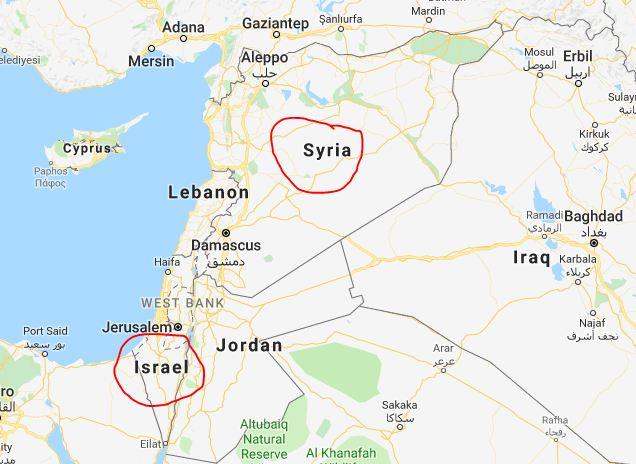 , इस्रायलचा सीरियावर हवाई हल्ला, शस्त्र भांडार नेस्तनाबूत