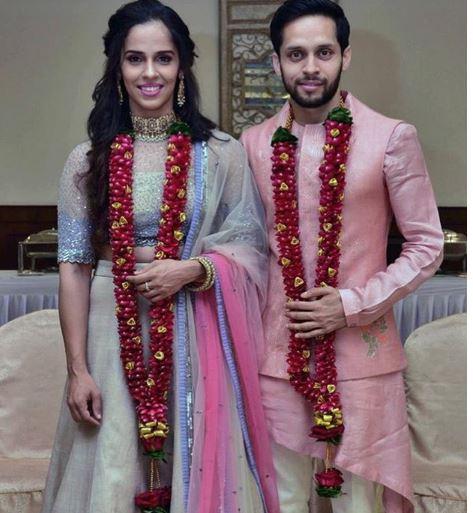 भारताची 'फुलराणी' विवाहबंधनात!
