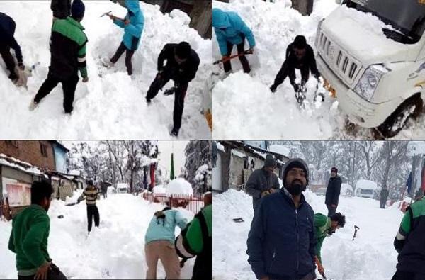 News of Day, अती बर्फवृष्टीमुळे यवतमाळचे 10 पर्यटक जम्मूमध्ये अडकले
