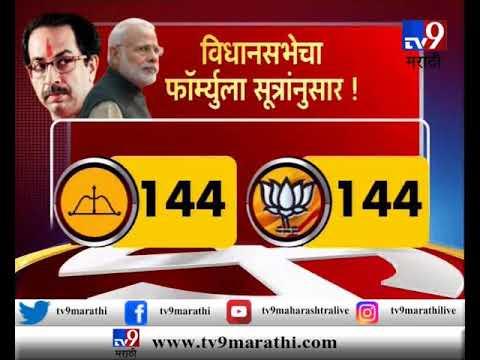 मुंबई : मुख्यमंत्र्यांच्या मातोश्री भेटीनंतर युती पक्की!