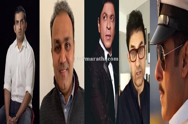 गंभीरचा संताप, सेहवागची हळहळ, सलमान,आमीर, शाहरुखची श्रद्धांजली