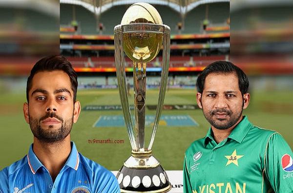 India vs Pakistan World Cup 2019, World Cup : भारत-पाकिस्तान सामनाही पावसात वाहून जाणार?
