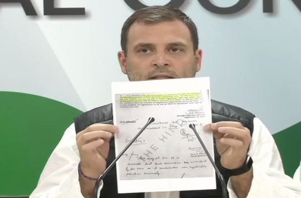 खोटारड्या मोदींचा राफेल घोटाळ्यात थेट सहभाग: राहुल गांधी