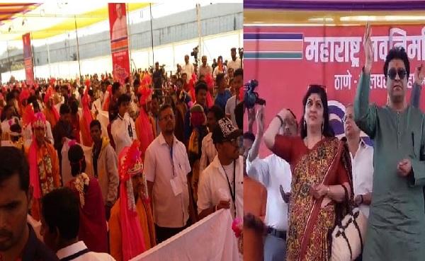राज ठाकरेंच्या उपस्थितीत 500 आदिवासी जोडप्यांचं लग्न