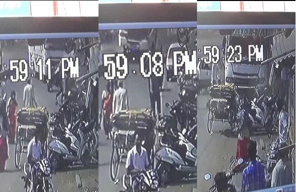 वर्ध्यात ट्रॅव्हल्सने नऊ वाहनांना चिरडलं, श्वास रोखायला लावणारा व्हिडीओ