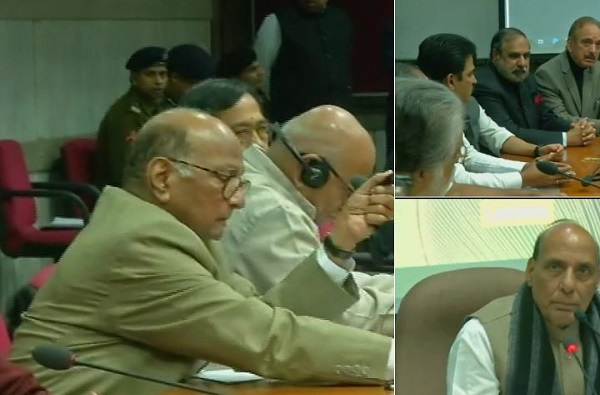 Pulwama Attack Live: सर्वपक्षीय बैठक संपली, नवी रणनीती ठरली?