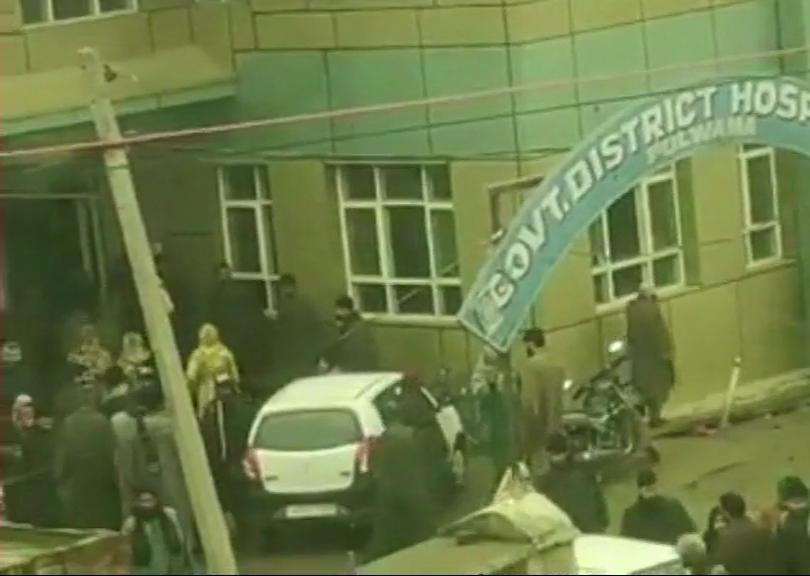 जम्मू-काश्मीरमध्ये शाळेत बॉम्बस्फोट