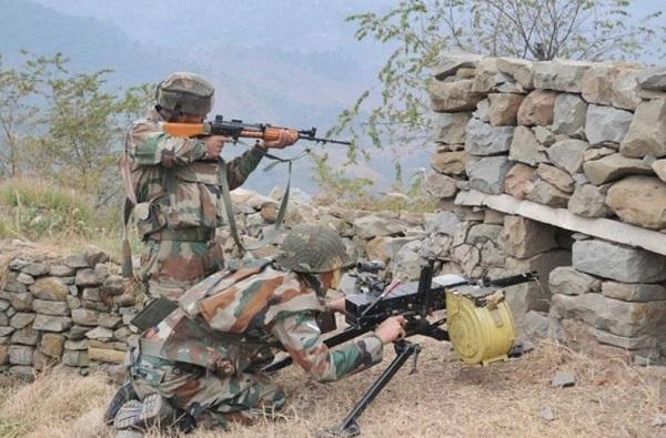 , पाकिस्तानकडून वारंवार गोळीबार, भारताने एकाचवेळी पाच चौक्या उडवल्या