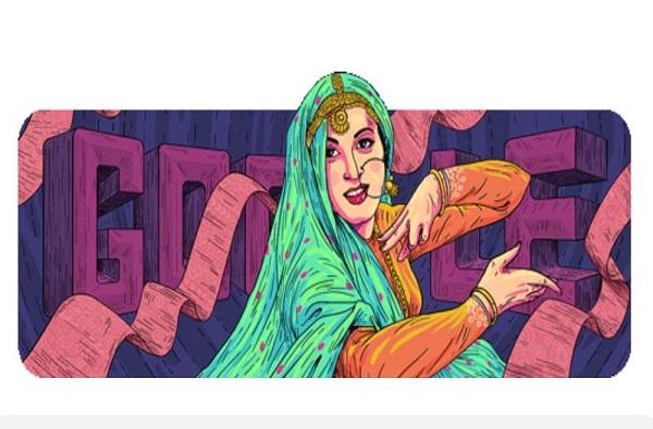 Google Doodle, भारतीय सिनेसृष्टीच्या सौंदर्यवतीला गुगलकडून आदरांजली