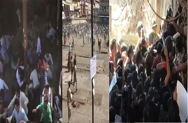 Pulwama Attack LIVE: नालासोपाऱ्यात 5 तासापासून रेलरोको, पोलिसांचा लाठीचार्ज