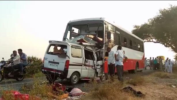 , पंढरपूरजवळ भीषण अपघात, मुंबईच्या सहा भाविकांचा मृत्यू