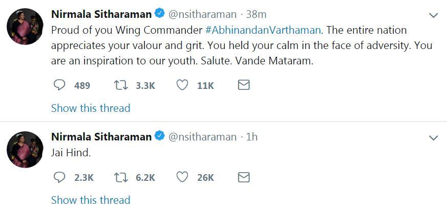 , प्रत्येकाच्या ओठावर एकच शब्द – Welcome Home Abhinandan