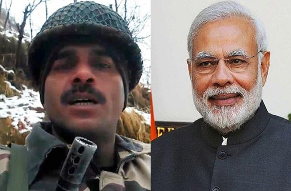 BSF soldier tej bahadur, 50 कोटी दिले तर मोदींनाही मारेन, जवान तेजबहादूरचा कथित व्हिडीओ व्हायरल