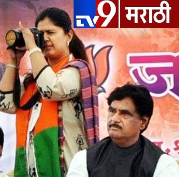 Gopinath munde loksabha election, 2014 ला उमेदवारी अर्ज भरल्यानंतर गोपीनाथ मुंडेंनी जेव्हा शक्तीप्रदर्शन केलं होतं