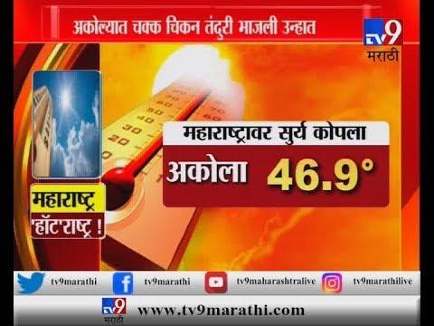 महाराष्ट्र की 'हॉट'राष्ट्र? अकोल्यात उन्हात चक्क चिकन तंदुरी भाजली