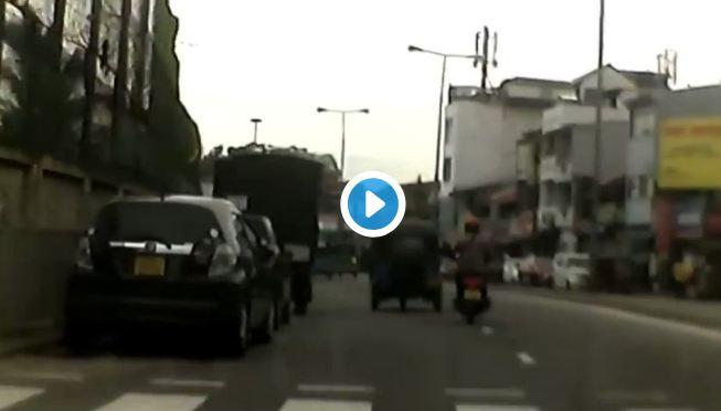 VIDEO : श्रीलंकेतील साखळी बॉम्बस्फोटाचा महाभयंकर व्हिडीओ समोर