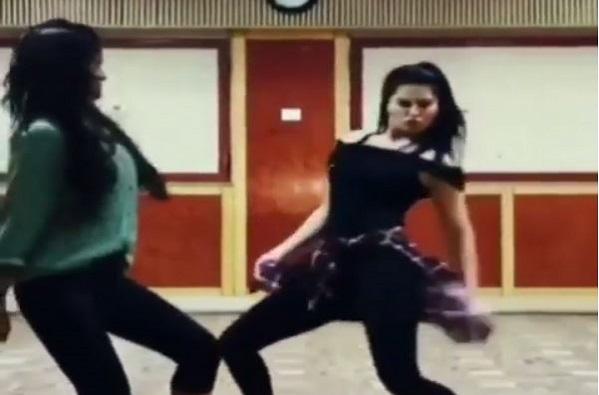 VIDEO : सपना चौधरीच्या गाण्यावर सनी लिओनीचा नागिन डान्स