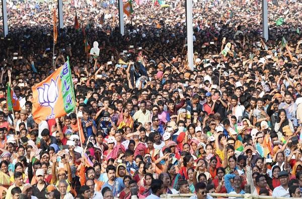 pm modi nanded rally, दोन लाख लोकांची व्यवस्था, नांदेडमध्ये मोदींच्या सभेत तीन मतदारसंघ कव्हर करण्याचा प्रयत्न
