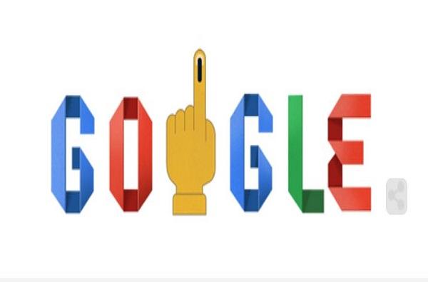 गुगलकडून खास डुडलच्या माध्यमातून मतदान करण्याचं आवाहन