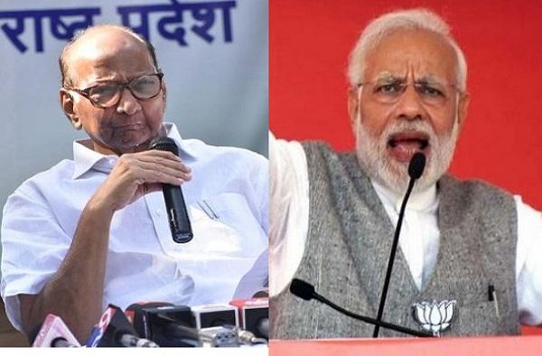 narendra modi, जनतेनं मतदानाआधीच अनेकांना मैदान सोडून पळवलंय, मोदींचा पवारांना टोला