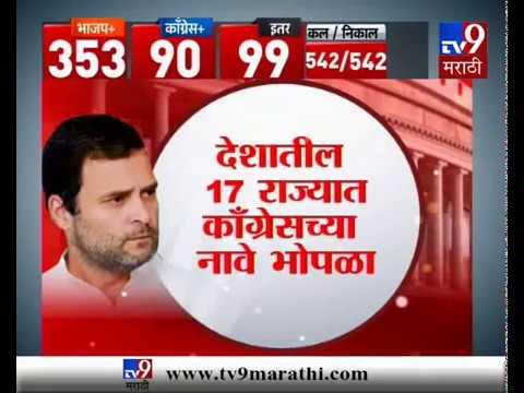 स्पेशल रिपोर्ट : काँग्रेसचा दारुण पराभव !, राहुल गांधींचे दिवस संपले ?