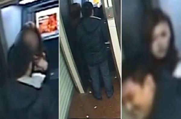 VIDEO : दयाळू चोर, महिलेला ATM मध्ये लुटलं, बँक बॅलन्स पाहून पैसे परत केले