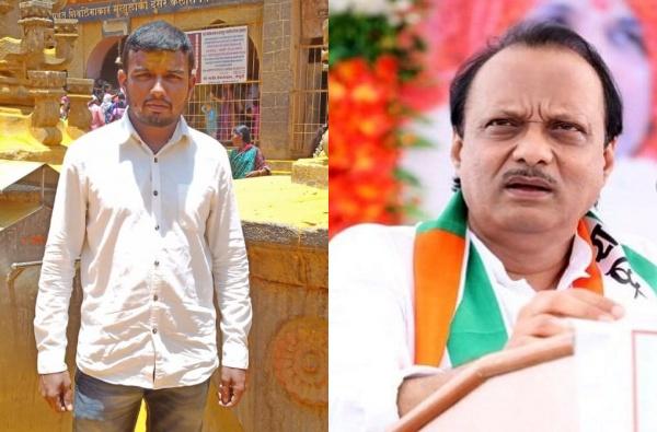 Ajit Pawar, अजित पवार मुख्यमंत्री होऊ दे, मुस्लीम युवकाचा जेजुरीच्या खंडोबाला नवस