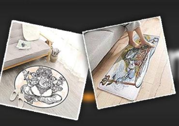 पायपुसनीवर गणपतीचा फोटो, अमेझॉनकडून हिंदू देवतांचा अपमान