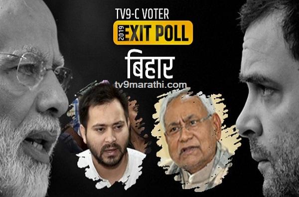 Bihar exit poll results for loksabha elections 2019, बिहारमध्ये तेजस्वी-राहुल गांधी यांची आघाडी फेल, एक्झिट पोलचा अंदाज