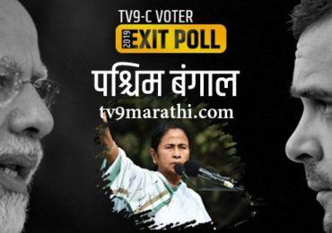Tv9-C Voter Exit Poll : पश्चिम बंगालमध्ये भाजपची किंचित वाढ, बाकी दीदींचाच दबदबा