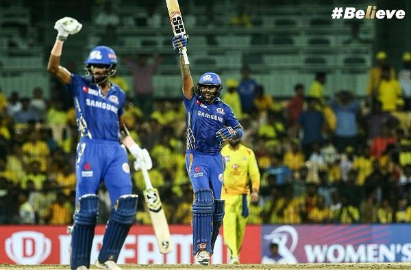 Mumbai Indians beats Chennai Super Kings reach ipl final 2019, मुंबईकडून घरच्या मैदानात चेन्नईचा सलग 9 वर्ष पराभव, रोहित ब्रिगेड फायनलमध्ये