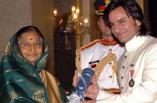 पद्मश्री पुरस्कार सरकारला परत करण्याची इच्छा : सैफ अली खान