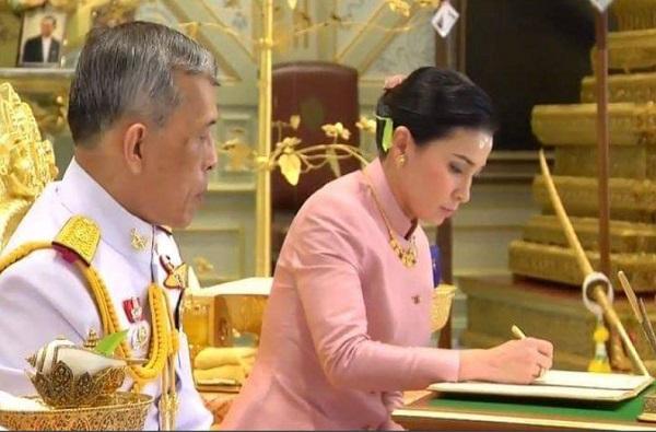 Thailand King, थायलंडच्या राजाचे महिला बॉडीगार्डशी लग्न