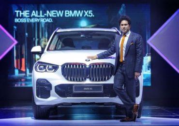 मुंबईत सचिनच्या हस्ते BMW लाँच, किंमत तब्बल...
