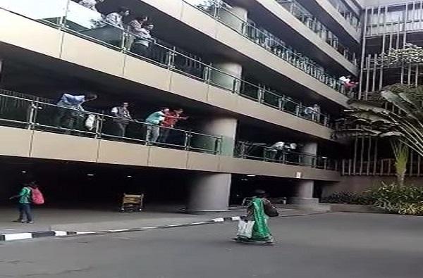 मुंबई विमानतळावर तरुणाची आत्महत्या