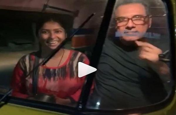 Marathi TV actress Laxmi, ही मराठी अभिनेत्री रात्रीच्या वेळी रिक्षा चालवते, बोमन इराणींकडून व्हिडीओ शेअर