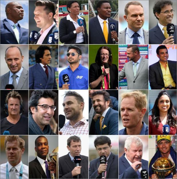 The ICC has announced its line-up of commentators for CWC19, कोणाची कॉमेंट्री आवडेल? वर्ल्डकपसाठी समालोचकांची यादी जाहीर