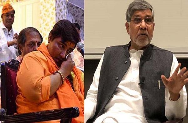 Kailash Satyarthi, भाजपने स्वार्थ बाजूला ठेवत प्रज्ञा ठाकूरला पक्षातून काढावे : कैलाश सत्यार्थी
