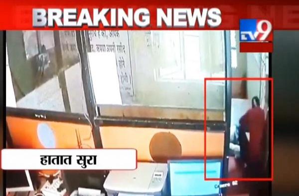 , VIDEO : महिलेने चोरट्याला पिटाळलं, विश्वास नांगरे पाटलांकडून कौतुकाची थाप